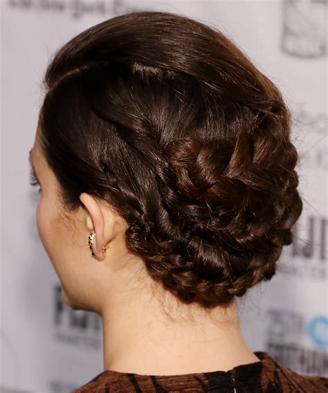 emmy rossum hair tutorial how to recreate emmy rossum s hair and makeup instyle