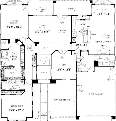 sun city anthem floor plans sun city anthem floor plans