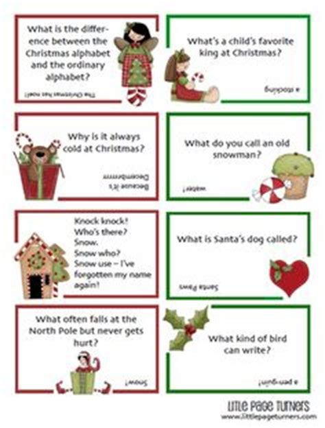 printable jokes for christmas crackers 1000 images about christmas activities for the classroom