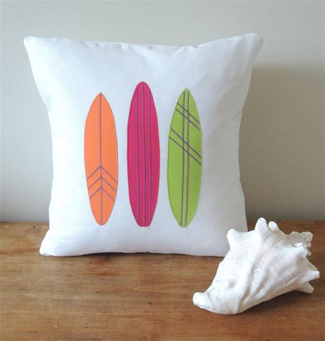 Surfboard Pillows by Surfboards Pillow Cover