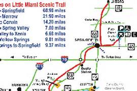 Little Miami River Map by Image Gallery Loveland Bike Trail