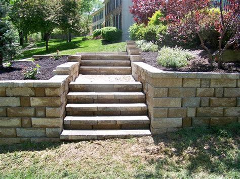 backyard steps front porch steps pavers decoto