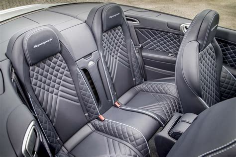 bentley continental interior back seat 2017 bentley continental supersports first drive review