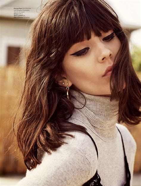 pictures of how tocut a fringe hair around the face blunt tapered fringe with long brown bob fringe cut just
