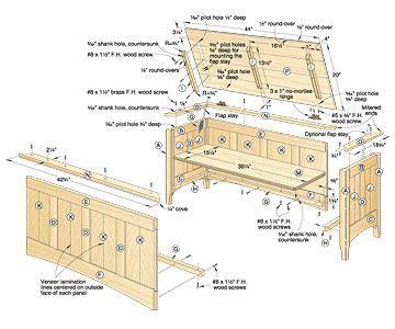 woodworking plans plans  building  hope chest   plans  hope chest wooden