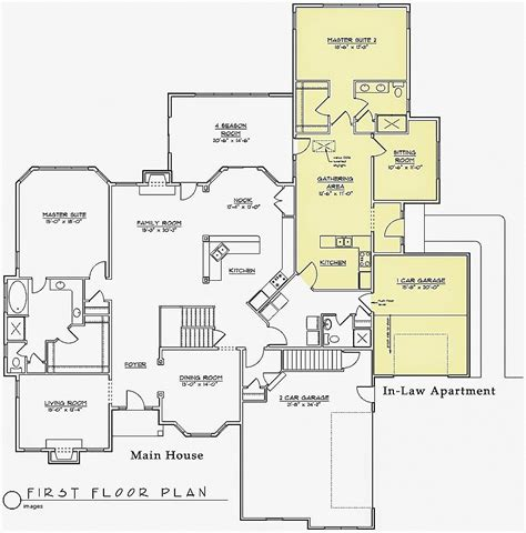 house plans with separate apartment house plan unique house plans with greenhouse attach