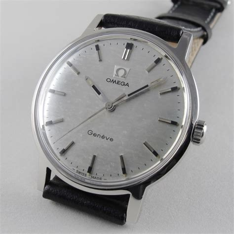 Omega Geneve Stell steel omega 232 ve ref 135 070 vintage wristwatch circa
