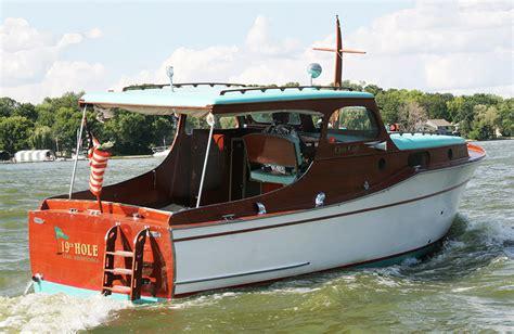 big old boat for sale 1936 chris craft 28 wooden cabin cruiser for sale