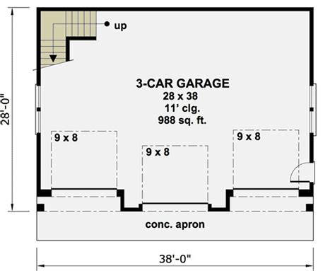 ordinary detached garage building plans #2: 14631RK_f1_1479214004.jpg?1506333426