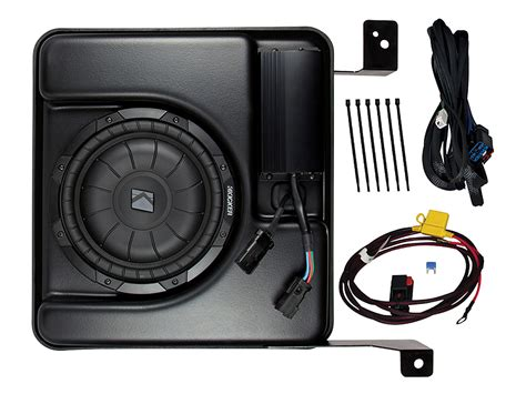 Speaker Gmc Type 888j kicker ssicre07 chevy silverado 2007 2014 crew truck 10 quot sub box 400w enclosure代拍 海外代购 美国代购 日本代购