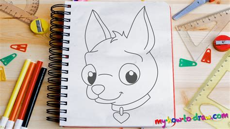 how to do simple doodle how to draw a chihuahua easy step by step drawing