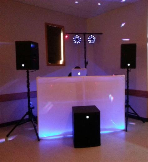 simple dj lighting setup dj setup lit up dj setups dj dj equipment