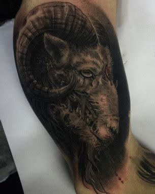 fat rams tattoo animal tattoos best ideas gallery
