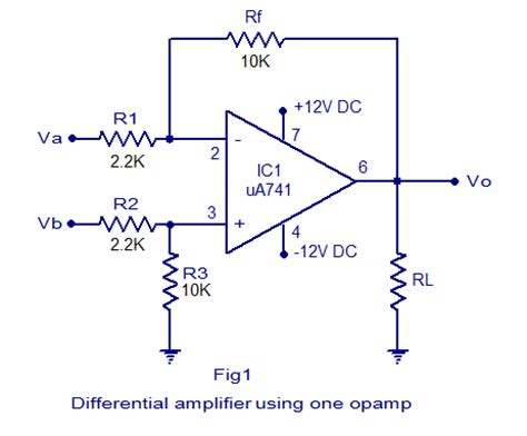 transistor differential lifier differential lifier circuit tutorial using bjt and op