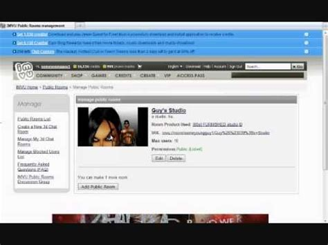chat rooms 13 how to create a chat room in imvu tutorial 13