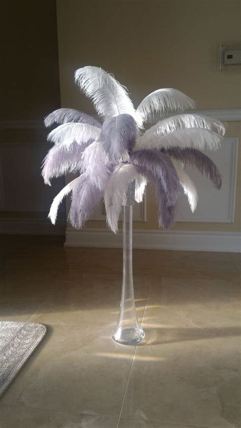 feather plume centerpieces deco feather centerpieces www imgkid the image kid has it