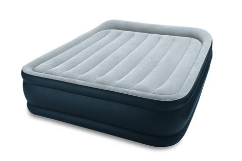 comfort air bed reviews intex plush elevated dura beam air mattress review