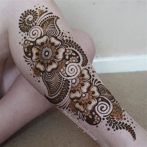 leg henna tattoo 25 best ideas about henna leg on
