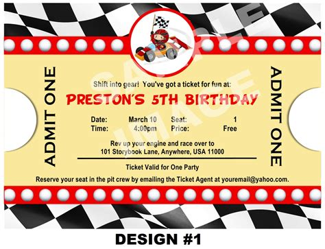 free printable birthday invitations race cars 40th birthday ideas free race car birthday invitation
