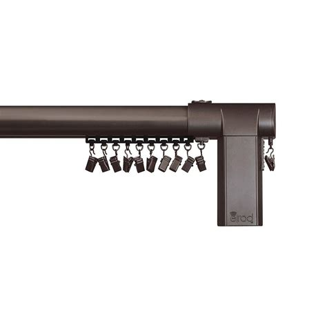 80 curtain rod erod 80 144 in center open remote control telescoping
