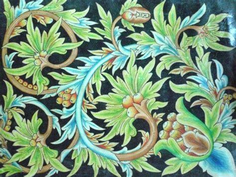 desain gambar flora 51 motif batik modern nusantara gambar desain