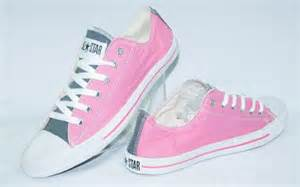 Sepatu Casual Sneakers Wanita Converse Low Pink Original Size36 40 converse low new update salmanstore onlineshop