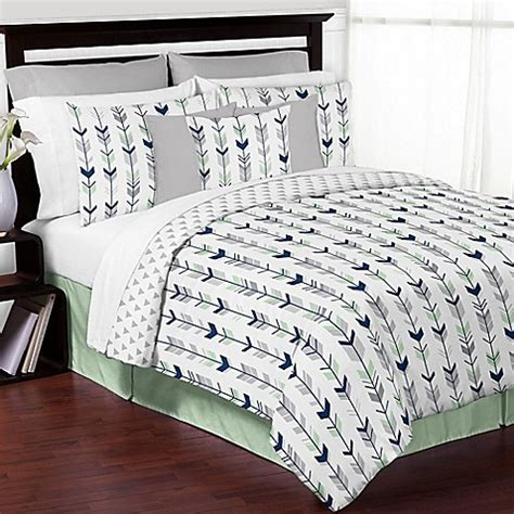 arrow bed sweet jojo designs mod arrow bedding collection in grey