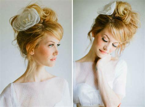 bridal hairstyles messy wedding hair inspiration intentionally messy bridal hair
