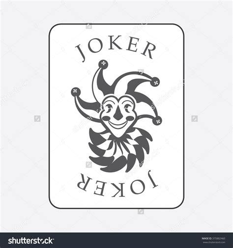 Joker Card Template by Joker Card Drawing At Getdrawings Free For Personal