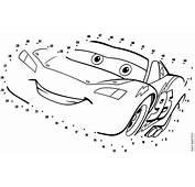 Jogo De Ligar Os Pontinhos Carros — Colorirorg