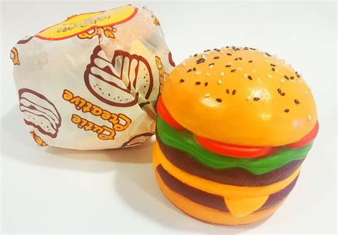 Squishy Burger Jumbo sale cutiecreative mini cheeseburger burger squishy