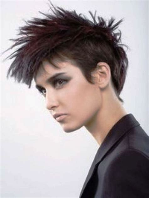 short punk haircuts for curly hair pictures of girl short black hairstyles punk