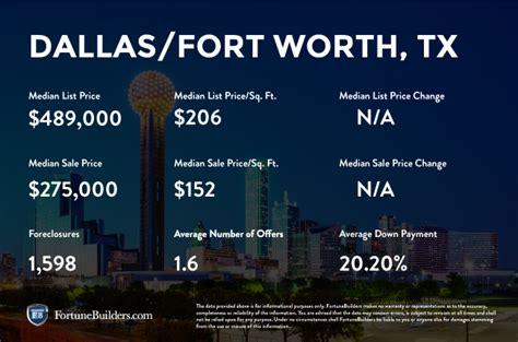 dallas housing market dallas tx real estate market trends