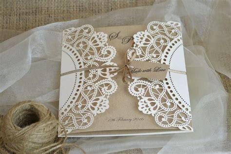 Diy Wedding Invitation Sles by Doily Wedding Invitations Wedding Invitation Ideas