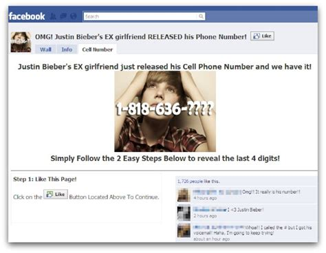 Find S Cell Phone Numbers By Name Justin Bieber S Cell Phone Number Nope It S A Scam Security