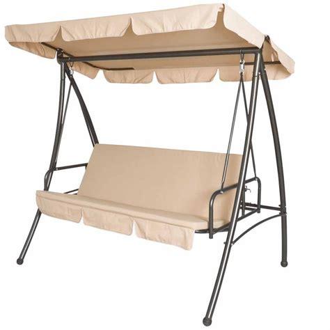 per giardino miadomodo dondolo da giardino 3 posti con tetto parasole