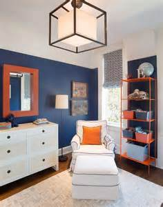 Navy and orange boys bedrooms contemporary boy s room
