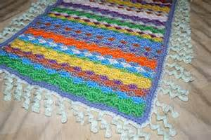 free crochet bubble stitch baby blanket pattern crochet