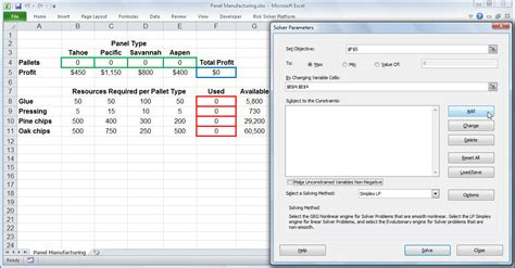 Tutorial Excel Solver | excel solver tutorial step by step easy to use guide for