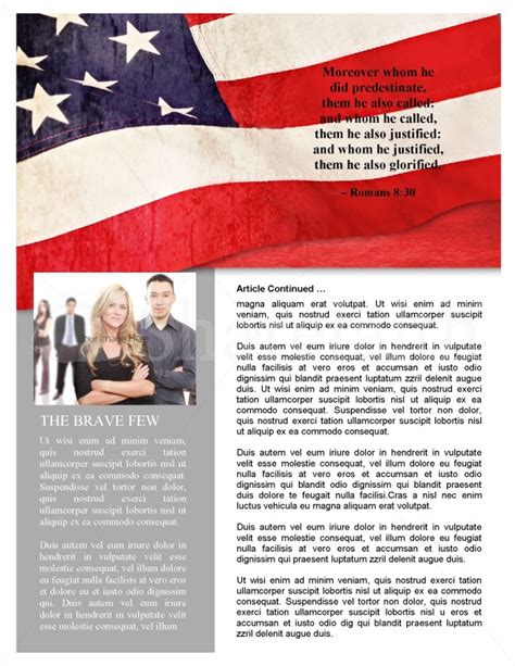 memorial page template memorial day newsletter design template newsletter templates