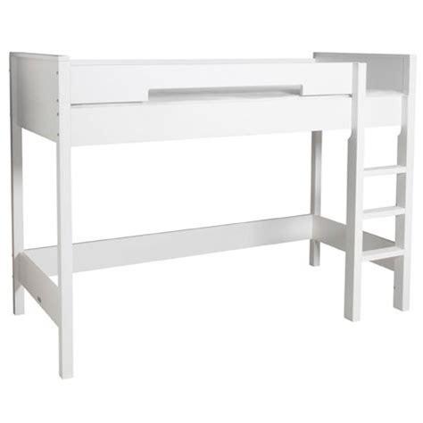 High Sleeper Bed White by High Sleeper Bed Mix Match 155 Cm Bopita White