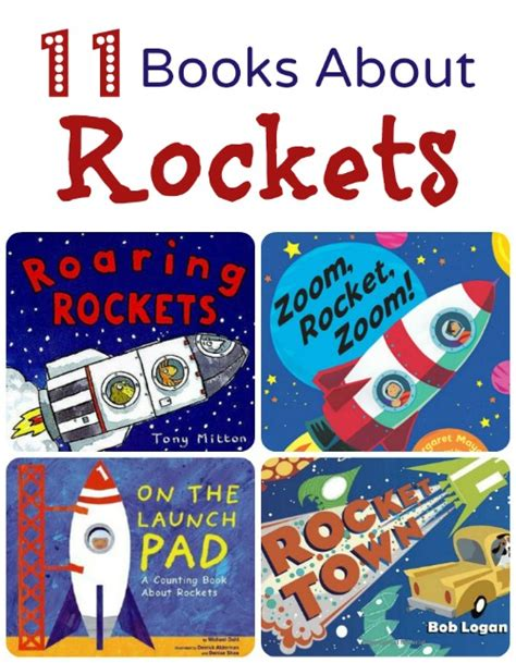 space picture books rocket books
