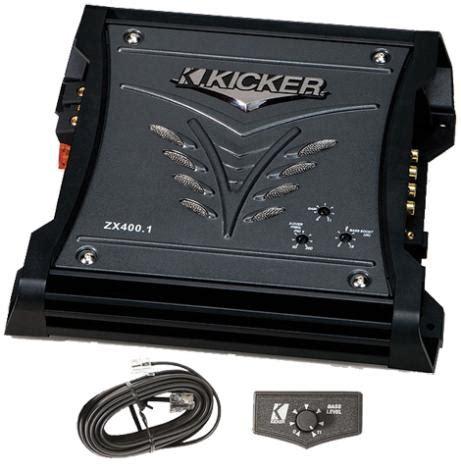 Kicker Zx400 1 kicker zx400 1 lifier w s10l5 10 quot l5 subwoofer w 8