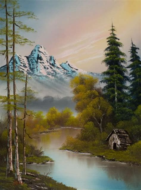 bob ross style paintings for sale 78 best images about bob ross painting techniques on