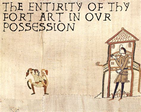 Medieval Tapestry Meme - image 39780 all your base are belong to us know