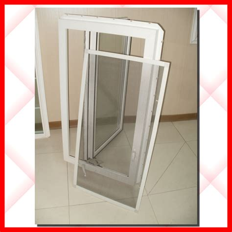 awning window fly screen pvc casement windows with fly screen from china