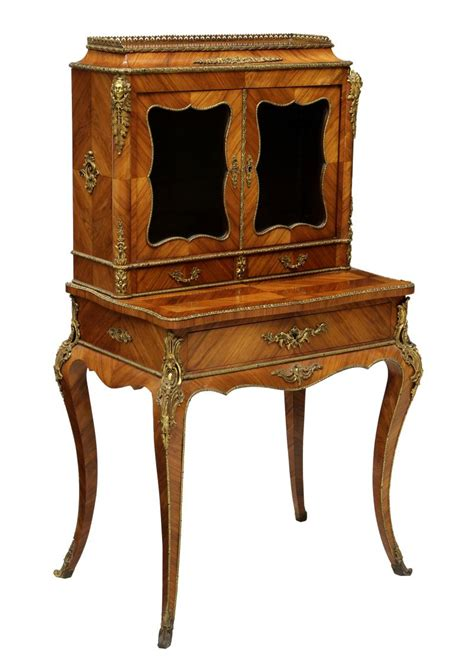 louis xv writing desk louis xv style bonheur du jour writing desk the howard