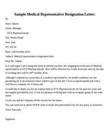 Resignation Letter Sle Health Care 30 Resignation Letter Format