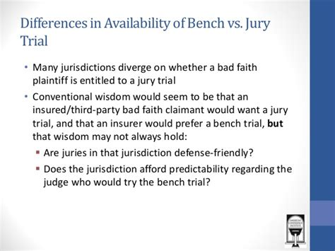 bench trial vs jury trial bench vs jury trial bench trial vs jury trial procedural