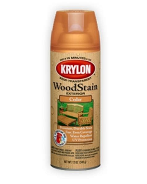 exterior semi transparent wood stain krylon
